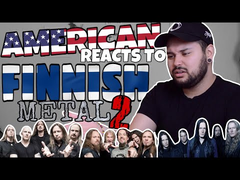 American REACTS  Finnish Metal 2