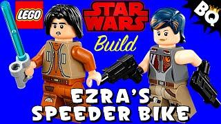 Lego Star Wars Rebels Ezra's Speeder Bike 75090 Flash Speed Build
