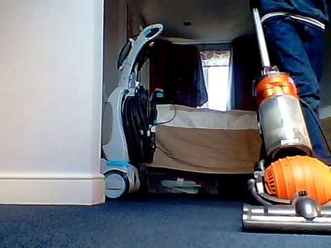 Vax carpet cleaner demonstration part 1