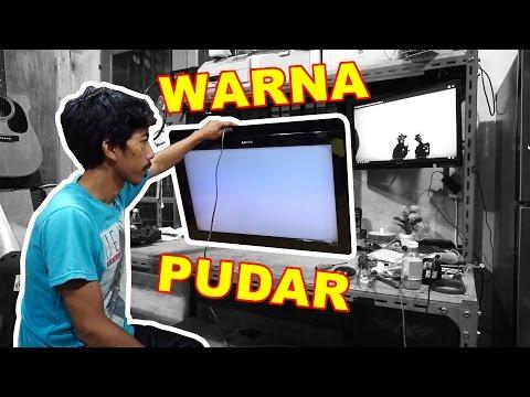 Memperbaiki TV SONY Warna Pudar VLOG87
