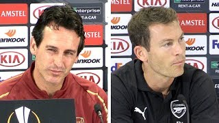 Unai Emery & Stefan Lichtsteiner Full Pre-Match Press Conference - Arsenal v Vorskla Poltava