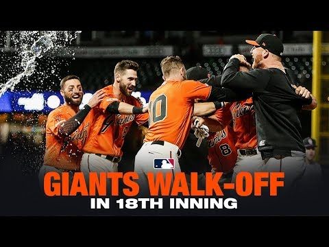 Giants walk-off in