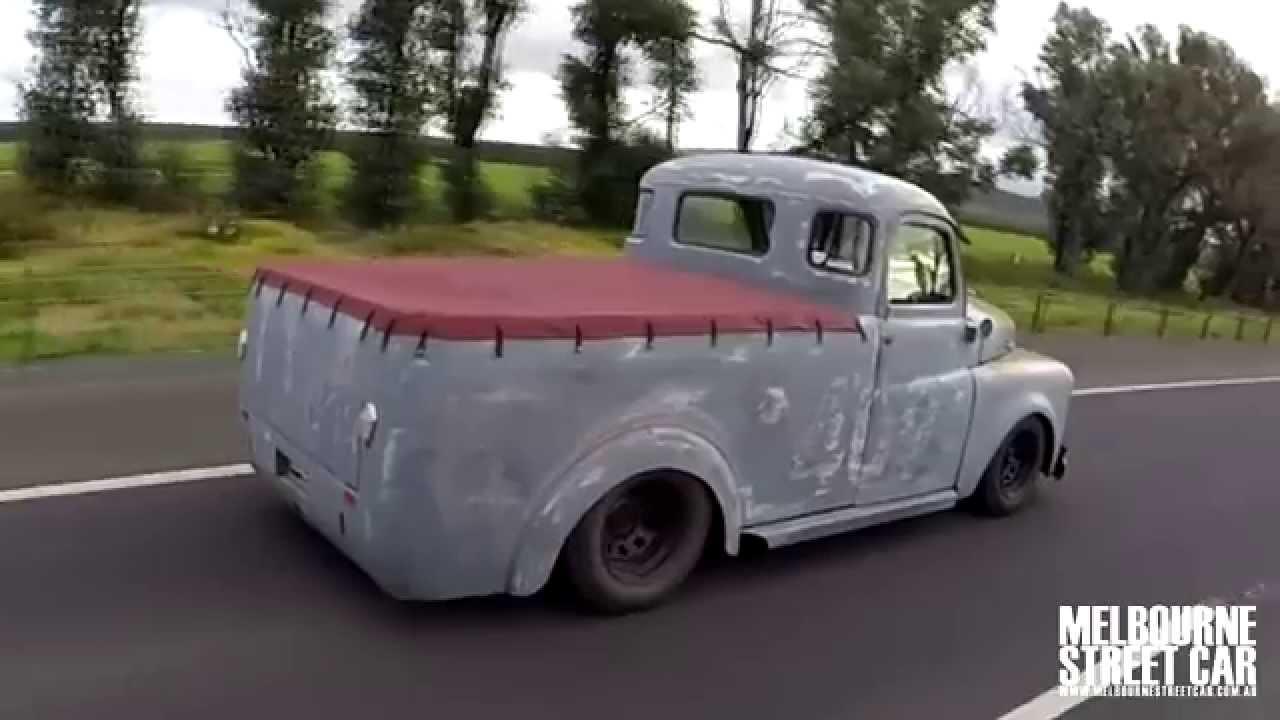 Turbo six powered 1948 Dodge B-Series Truck - YouTube