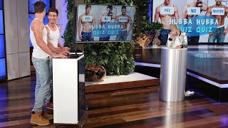 Ellen Tests Her Hunky Hotties in