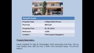 House For Sale In Chamrajpet Bangalore