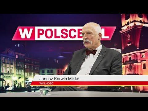 Wieczór wPolsce.pl, cz.2: J. Korwin-Mikke: Dla mnie  ideałem jest słaba Ukraina