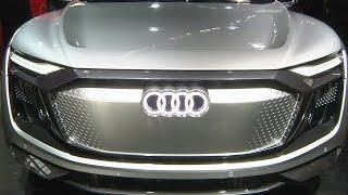 Audi рассекретила в Шанхае концепт e-tron Sportback (новости)