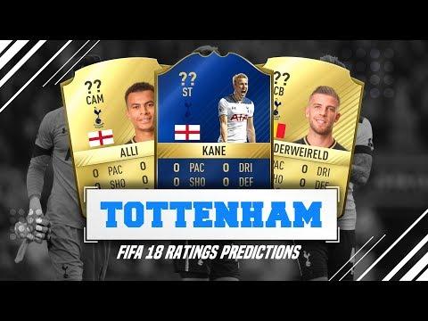 FIFA 18 RATINGS PREDICTIONS   TOTTENHAM HOTSPUR!!! (w/ Career Mode potentials)