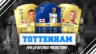 Fifa 18 ratings predictions | tottenham hotspur!!! (w/ career mode potentials)