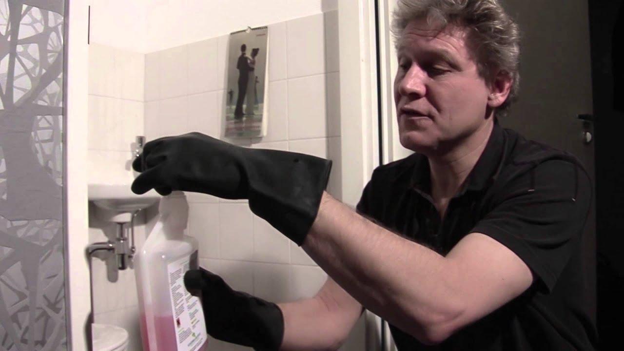 Kalk In De Wc Pot.Wc Ontkalken Toilet Periodiek Schoonmaken Youtube