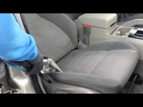 Steam Cleaning Jeep Upholstery Seats