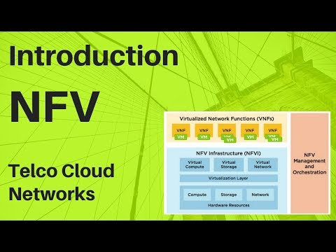 Introduction to NFV Network function Virtualization Basics - NFV Architecture and ETSI - NFV MANO