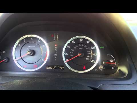 Loud noise starting a Honda Accord 2010