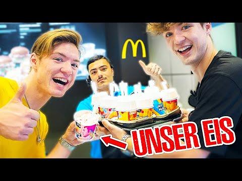 Wir Kaufen Unser EIGENES EIS Bei McDonald's 🍦😍