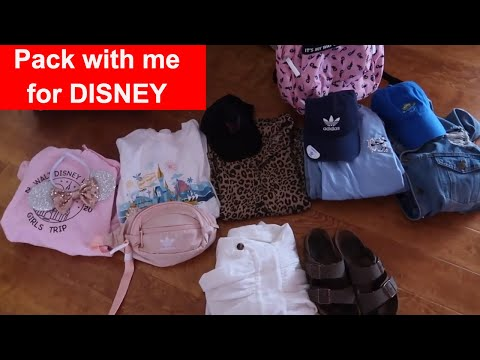 Pack With Me For Our Walt Disney World Vacation