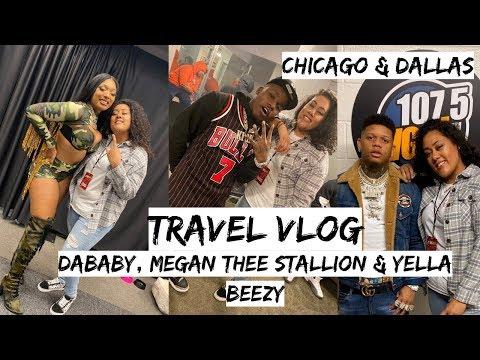 Ashlee - WATCH: Christmas Travel Vlog with DaBaby, Yella Beezy & Megan thee Stallion