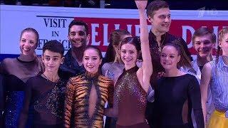 Alina Zagitova European Championships 2018 EXF D