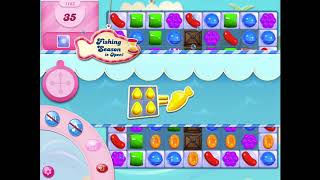 How to beat level 1163 on Candy Crush Saga!!