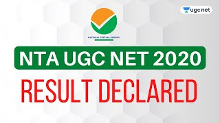 NTA UGC NET | JRF Result 2020 Declared | UGC NET 2020 Results Out Now