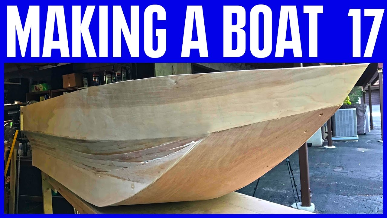 How to Build a Wooden Boat With Plywood from Home Depot. - YouTube