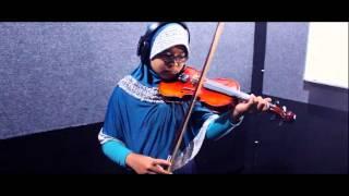 Bunda - Melly Goeslaw (Violin Cover by thasya , 13 Years Old)