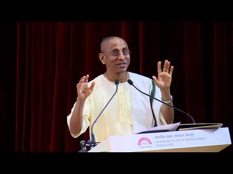 Leadership And Spirituality: Lecture At IIMB