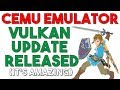 Cemu Vulkan Renderer is Here | Massive Speed & Performance Gains but not Perfect Yet