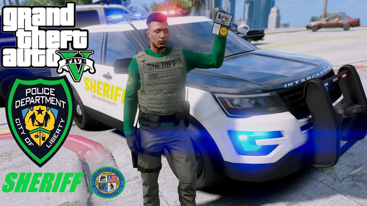 I Have The Most Dangerous Job In Los Santos !! GTA 5 Police Mods LSPDFR# 72 Sheriff Dept.