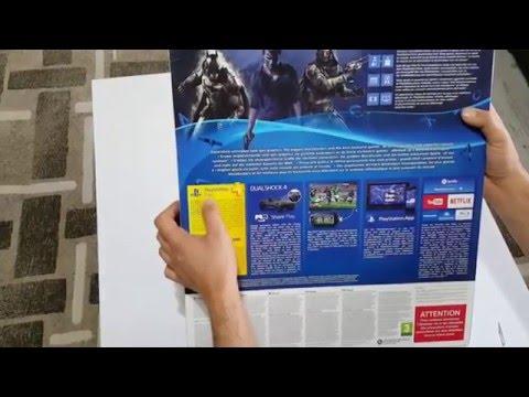 Sony Playstation 4 1TB yeni kasa Oyun Konsolu + 2 Kol kutu açılımı ve inceleme