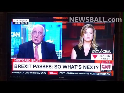BREXIT caused by Muslims raping 100s UK GIRLS & US Market crash manipulation – Ben Stein on CNN