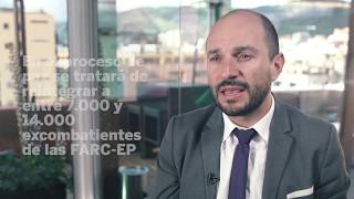 Acuerdo de paz en Colombia - Entrevista Joshua Mitrotti, Agencia Colombiana para la Reintegración