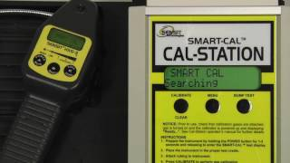 SENSIT® HXG-3P Calibration Using The SMART-CAL Calibration Station