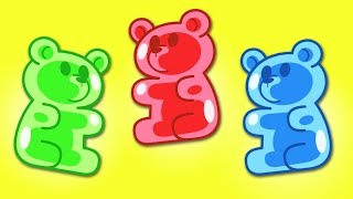 Learn Colors with Gummy Bears   Preschool Learning for Toddlers   Kids Video for Kids