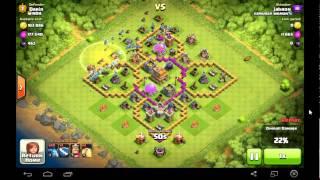 clash of clans: 100 level 2 minions 3 star attack