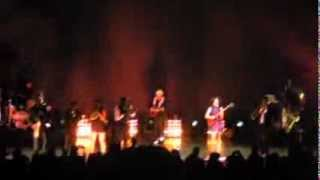 """David Byrne & St. Vincent at The Greek Theatre L.A. on 10/13/12 -  """"Burning Down the House"""""""