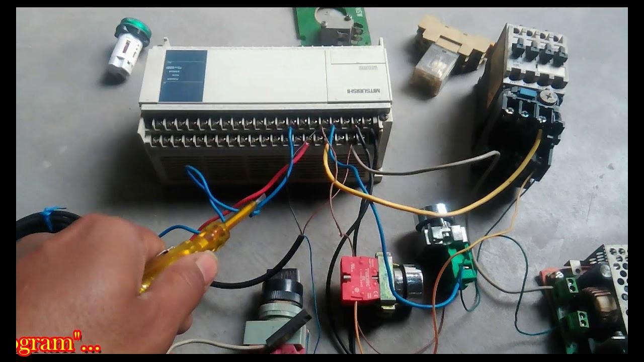 Mitsubishi Plc Wiring Diagram Molecular Orbital Of Hf Molecule Input Npn With Pnp Tutorial Sensor