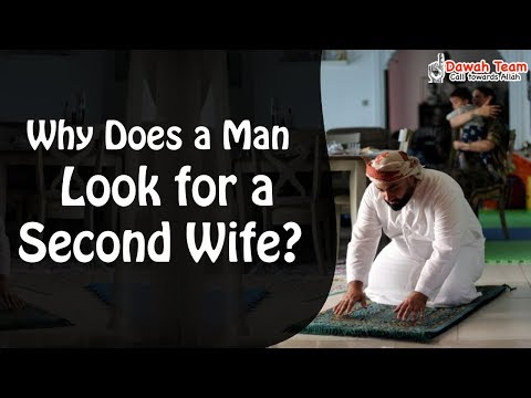 Why Does a Man Look for a Second Wife ? ᴴᴰ ┇Mufti Menk┇ Dawah Team