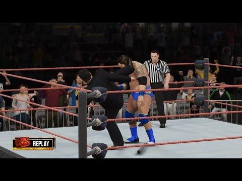 PC世界摔角娛樂WWE 2K16 - 托尼·奇默[Tony Chimel] Vs. 布雷·外耶特[摔角狂熱14] [無規則賽]【WWE重量級冠軍(煙頭骨)】[14/11/