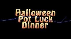 Halloween Pot Luck Dinner 2013 at the Meridian RV Resort, Apache Junction, Arizona
