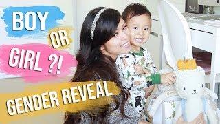 BABY GENDER REVEAL! ♥ Pregnancy Vlog #2 Second Trimester