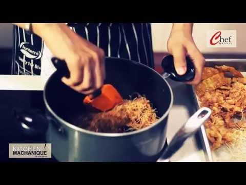 เชฟจูเนียร์ ทำหมี่กรอบรสชาติต้นตำหรับไทย styling แบบโมเดิร์น