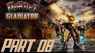 Let's Play Ratchet Gladiator #08 [Deutsch/BLIND/HD] Vorbereitungen für das letzte Turnier Video