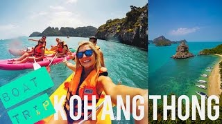 Koh Ang Thong Day Trip // Safari Boat + AMAZING Views!