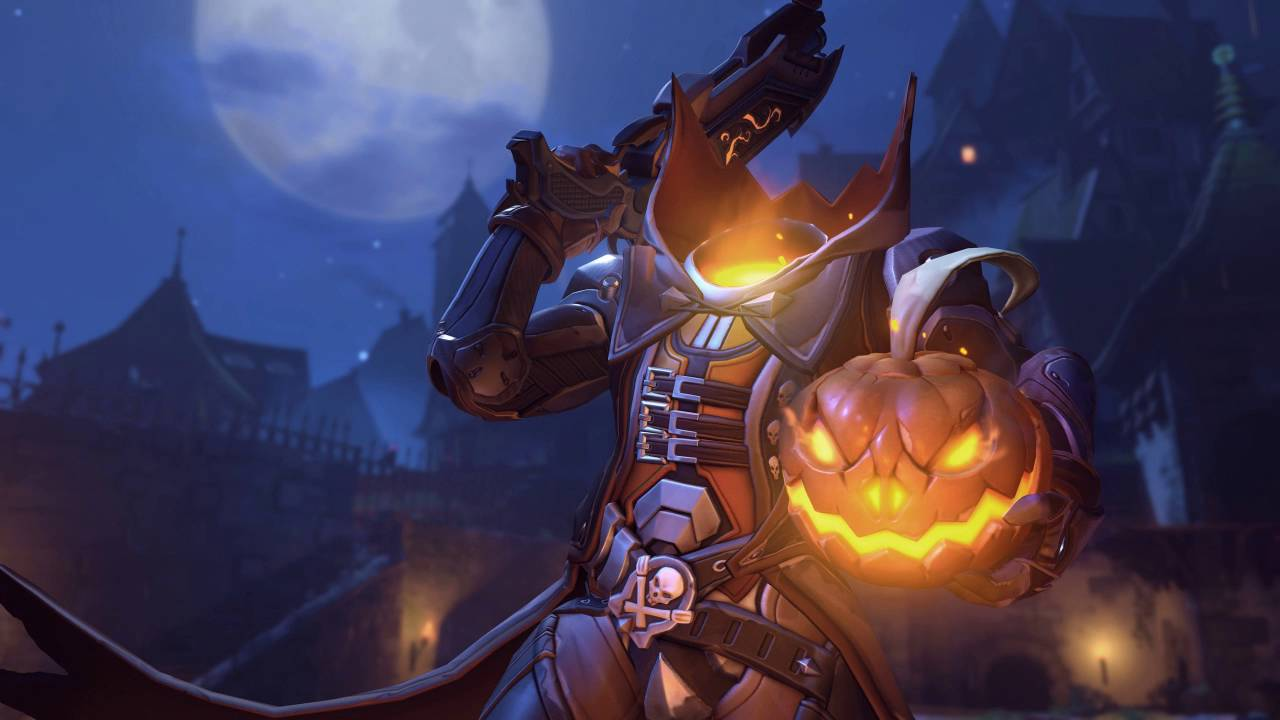 overwatch soundtrack main screen halloween terror