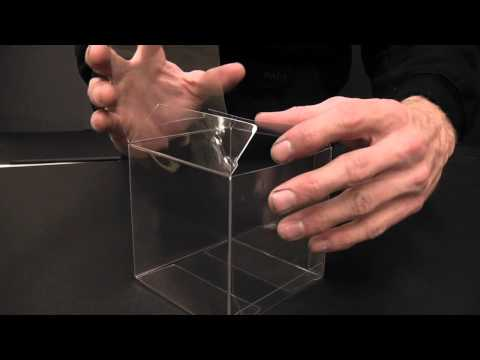 Crystal Clear Box Folding - Box Tips - Instructions
