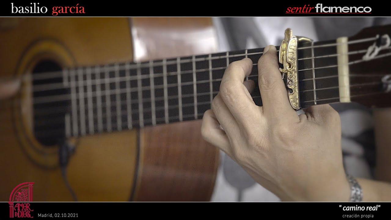 """Basilio García toca su Taranta """"Camino Real""""  con su Guitarra """"Pedro de Miguel""""   Amor de Dios"""
