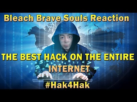 THE ONLY WORKING HACK IN THE WHOLE INTERNET | Bleach Brave Souls Reaction