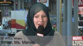 The Writer of Ms. Marvel Talks About Growing Up With Superpowers at NYCC 2014