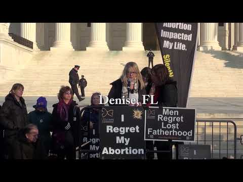 Denise's 2019 March for Life Testimony