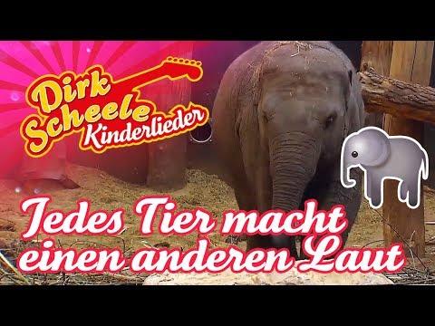 Jedes Tier macht einen anderen Laut – Dirk Scheele Kinderlieder